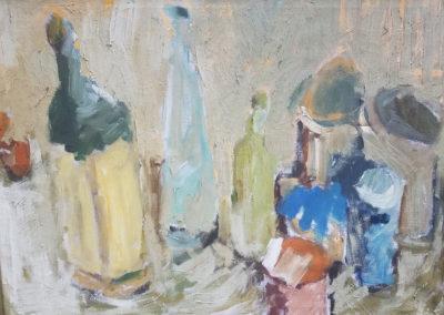 Mid-Century Expressionist Still Life