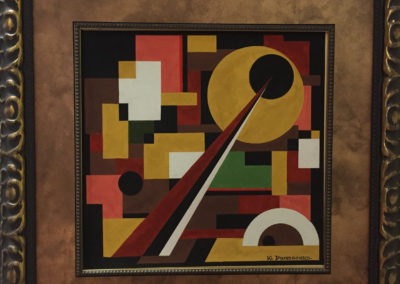 1930s Russian Abstract