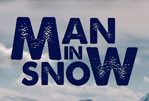 Man in Snow